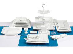 Vierkant serviesgoed