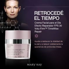 Timewise Repair, Imagenes Mary Kay, Skin Care, Tips, Beauty Makeup, Face Care, Facial Care, Skin Cream, Mary Kay Cosmetics
