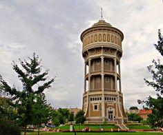 Szeged city- Water tower--- Víztorony, Hungary Water Tower, Homeland, Pisa, Buildings, Travel, Antigua, Trips, Viajes, Traveling