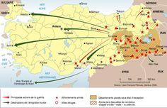 Le conflit kurde au début des années 1990, par Philippe Rekacewicz (Le Monde diplomatique, janvier 2008)