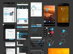 Nexus 4 GUI