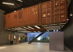 BBC Arquitectos puts shipping containers in Le Utthe store. JOIN  the cargo home community. It is free.  http://cargocontainerhome101.com