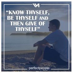 Know thyself Know Thyself, Quotes, Quotations, Quote, Shut Up Quotes