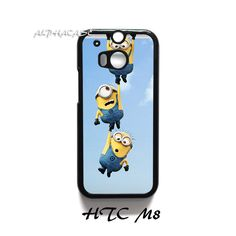 Despicable Me Minion Hanging HTC One M8 Case