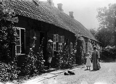 "Skagen's Museum (Denmark): ""... was founded in the dining room at Brøndum's Hotel in 1908... After P.S. Krøyer's death in 1909, his house in Skagen Plantation was used as a museum. In 1919, Degn Brøndum donated the hotel's old garden to Skagens Museum. In 1997 the museum administration moved into the Technical School.""  IMAGE: The Krøyer family in front of Krøyer's House in Skagen's Plantation (1900). Photo: Attributed to P.S. Krøyer."