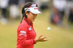 Pei-Ying Tsai Photos - Pei-Ying Tsai of Taiwan reacts after missing her eagle putt on the 17th hole during the second round of the TOTO Japan Classics 2017 at the Taiheiyo Club Minori Course on November 4, 2017 in Omitama, Ibaraki, Japan. - TOTO Japan Classics 2017 - Round Two