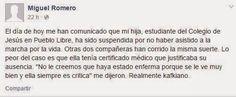 LIMA VAGA: Colegio desmiente haber obligado a sus alumnos a i...