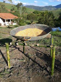 Jirau para secagem do milho.