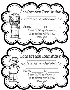 The ABC's of Second Grade! C is for Conferences!