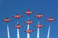 Royal Canadian Air Force's Snowbirds – The Aviationist Vancouver Bc Canada, Vancouver Island, O Canada, Canada Travel, Canadian Things, Sailing Adventures, Air Show, Military Aircraft, British Columbia