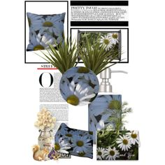 """""""White Daisies"""" by whitewavespaperie on Polyvore"""