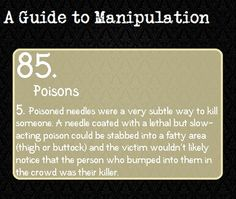A Guide to Manipulation 84 - Diamond Death <<I promise I am a writer! Guide To Manipulation, The Art Of Manipulation, Manipulation Quotes, Writing Help, Writing Tips, Writing Prompts, A Guide To Deduction, Detective, The Science Of Deduction