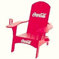 Coca-Cola Adirondack Chair