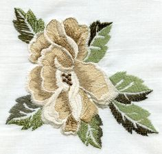 Gallery.ru / Фото #99 - подборка вышивки из инета - ninmix Japanese Embroidery, Embroidery Thread, Machine Embroidery Designs, Thread Painting, Cactus Plants, Needlepoint, Cross Stitch Patterns, Needlework, Flowers