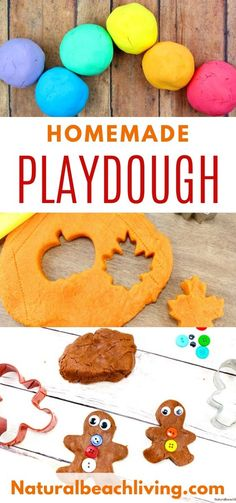Make The Best Homemade Playdough Recipe - Play dough Recipe Ideas - Natural Beach Living Preschool Crafts, Diy Crafts For Kids, Preschool Ideas, Creative Activities For Toddlers, Kids Fun, Best Homemade Playdough Recipe, Sensory Play, Sensory Bins, Cooked Playdough