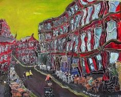 Michael Gutteridge Painting of Canal Street
