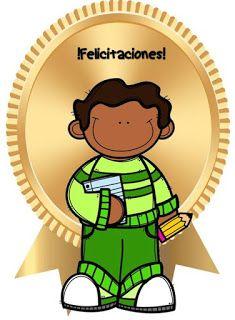 Fichas de Primaria: Medallas escolares Stickers Online, Joy, Teaching, Education, School, Drawings, Home, Infant Learning Activities, Kids