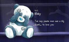 Blue nose friends binky