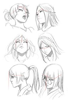 trendy how to draw anime face angles – Drawing Techniques Drawing Practice, Drawing Poses, Manga Drawing, Figure Drawing, Manga Art, Drawing Sketches, Art Drawings, Anatomy Drawing, Manga Anime