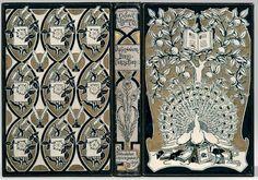 Peacock bookbinding design UZANNE (Octave) DICTIONNAIRE BIBLIOPHILOSOPHIQUE Reliure de Weckesser