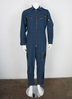 1a1609015ac Vintage US Air Force Flight Workwear Coveralls size Large by  foundationvintage on Etsy https