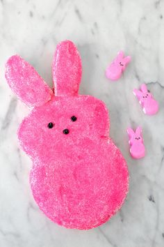 It's Tradition: DIY Giant Easter Peep Cake | Studio DIY®