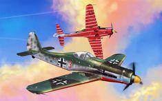 Herunterladen hintergrundbild focke-wulf fw 190d-9, langnasen dora, jagdverband 44, jv44, warthunder, world war ii, die deutschen jäger -, militär-flugzeug