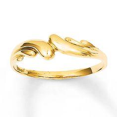 Swirl Ring 14K Yellow Gold