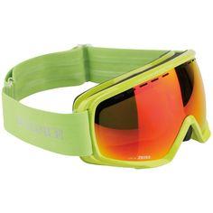 Bogner Monochrome Ski Goggles with Lime frame