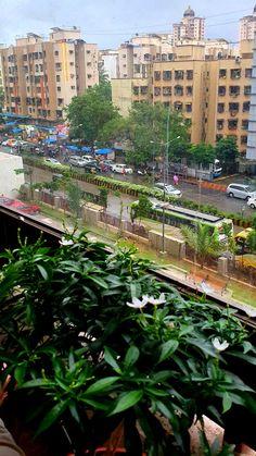 In the chaos of traffic and workohalic people, everything becomes beautiful once it rains on Mumbai.  #mumbai #borivali # rains Mumbai, Rain, Digital, Building, People, Travel, Beautiful, Rain Fall, Viajes