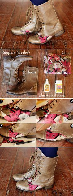 Boots Decoration – DIY