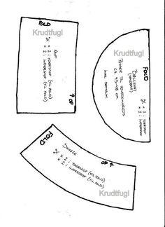 Mønster på bøllehat