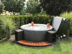 Die 20 besten Bilder auf whirlpool Garten | Home, Garden, Hot tub ...
