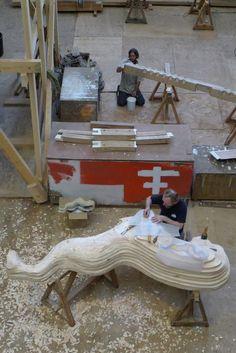 mai 2011 figure de proue sculptée par Andrew Peters