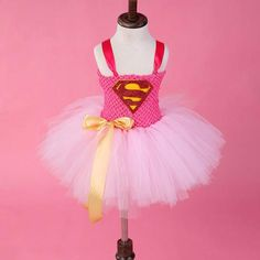 Superhero Tutu Costume