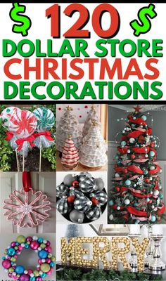 Merry Christmas, Dollar Tree Christmas, Christmas Hacks, Christmas On A Budget, Dollar Tree Crafts, Diy Christmas Gifts, Holiday Crafts, How To Decorate For Christmas, Diy Christmas Projects