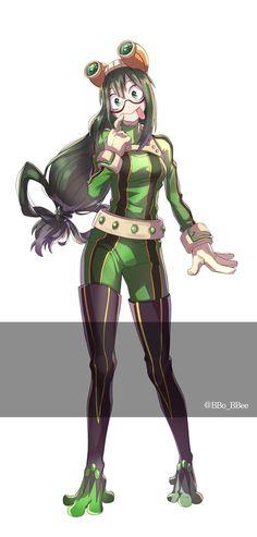 Boku no Hero Academia || Tsuyu Asui