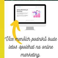 Až o 60% více menších podniků bude letos kvůli krizi více spoléhat na online marketing. Jejich majitelé vidí příležitost a nebojí se jí využít. #podnikani #marketing #onlinemarketing #plzen #business #web Online Marketing, Internet Marketing
