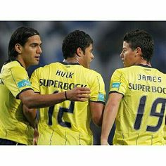 Falcao - Hulk - James (Porto)
