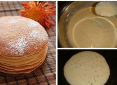 Búzadarás palacsinta, liszt nélkül! Megtöltheted édes, vagy sós töltelékkel, bámulatosan finom lesz! - Ketkes.com Pancakes, Food And Drink, Pudding, Baking, Breakfast, Sweet, Morning Coffee, Candy, Custard Pudding