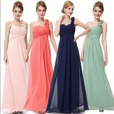 204efe7cb9e9 Elegant One Shoulder Long Bridesmaid Formal Evening Dress Maxi Dress Prom  Gown #maxidressprom Maxi Dresses