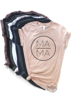 mom shirts mama shirt,mama t shirt,mom shirt,momma - mom Graphic T Shirts, Statement Shirts Graphic Tees, Graphic Tee Style, Graphic Tee Outfits, Vintage Band Shirts, Mama Shirts, T Shirt Custom, Oversized Graphic Tee, Fashion Models