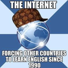 The Internet: Forcing Other Countries To Learn English Since 1990 Voice Over Ip, Cereal Guy, Internet Network, Picture Blog, You Meme, Best Memes, Learn English, Mind Blown, Funny Pictures