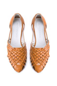 SALE 25% Discount Womens Tan Woven Flat Huarache Sandals // US sizes 5-12 on Etsy, $135.00