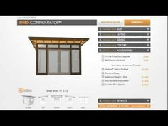 www.studio-shed.com/configure  The second Studio Shed 3D Configurator ™ Preview Video Shed Builder.  Watch to see how the Configurator will work - build your shed while rotating and viewing different elevations.  #studio #shed #configurator #3D #modern #backyard #retreat #storage #garage #art #pottery #kids #man #woman #cave #prefab #modular #video