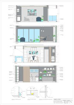 Discover recipes, home ideas, style inspiration and other ideas to try. Layout Design, Interior Design Portfolios, Interior Design Sketches, Interior Design Boards, Design Design, Rendering Interior, Drawing Interior, Architecture Portfolio, Interior Architecture