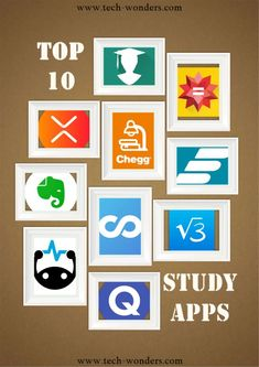 Here are the top 10 best study apps for college students looking to beef up study skills and improve their grades on assignments and exams. Top Android Apps, Top Apps, Gre Prep, Study Apps, Time Management Skills, Study Habits, Study Skills, Best Apps, College Life
