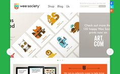 Wee Society - colourful but classy design