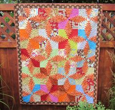Pineapple Quilted Wall Hanging