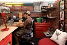 Too funny!!! Great idea for a mans work cubicle